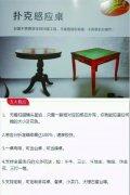 扑克感应桌